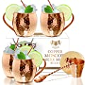 Moscow Mule Copper Mugs by B. WEISS