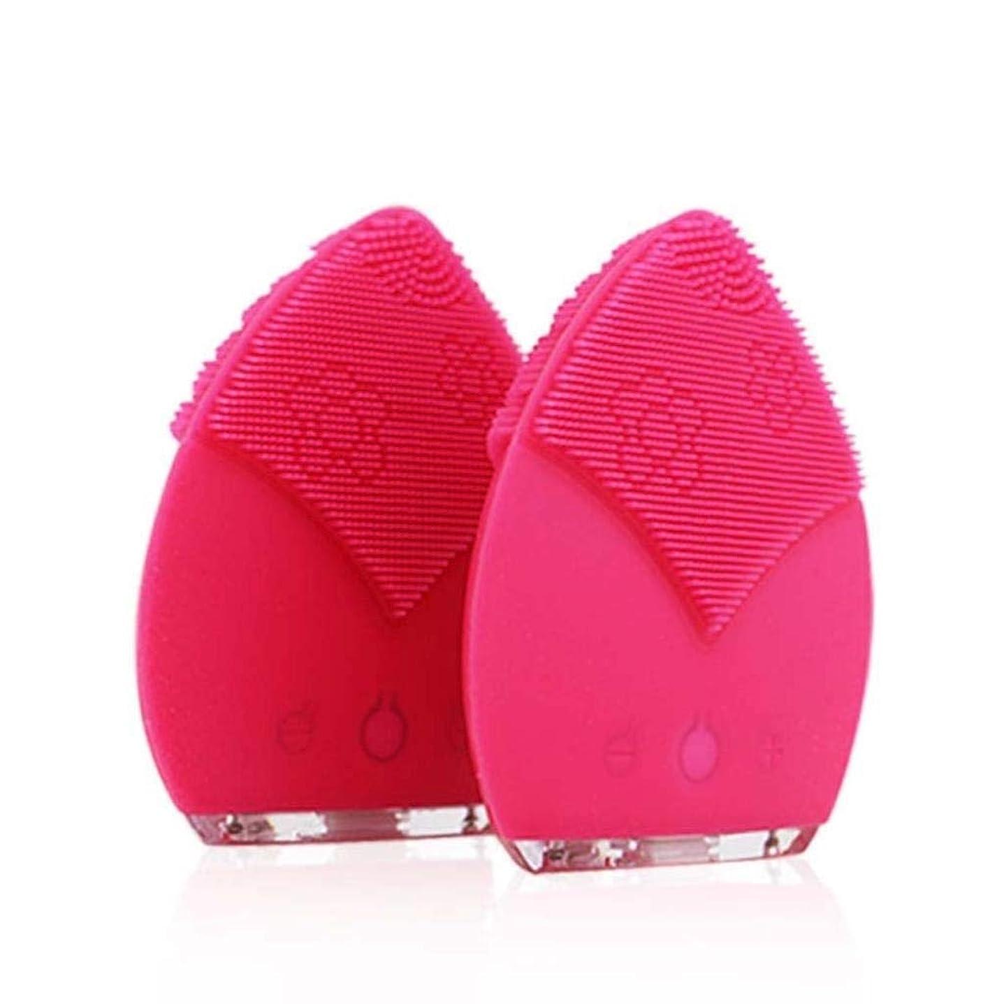 消防士適応的飾るクレンジングブラシ、IPX5は電気クレンジングブラシ、深い皮の清潔になるための顔のマッサージャーを防水します