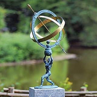 Gartentraum - Gartentraum Hombre con Kit de Reloj de Sol - Giordano