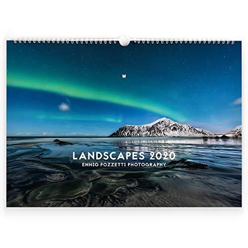 FORMGUT Bildkalender 2020, Premium Landschaftskalender, Posterkalender, Fotokalender, Wandkalender, Natur-Kalender, Jahreskalender - DIN A3 quer