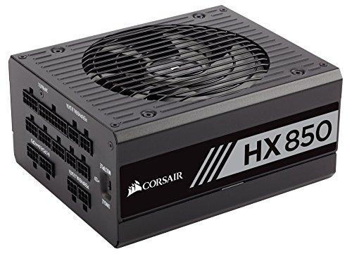 CORSAIR HX Series, HX850, 850 Watt, 80+ Platinum Certified, Fully Modular Power Supply