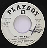 Cy Coleman with orchestra 45 RPM Playboys theme / You fascinate me so