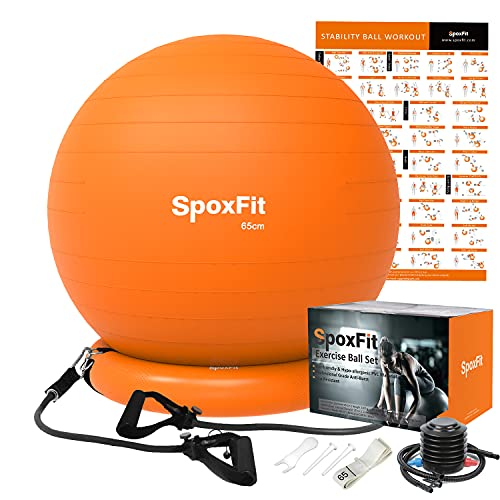 Spoxfit exercise ball chair