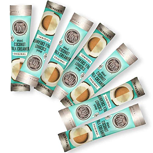 Coconut Cloud: Original Vegan Coffee Creamer | Made in Colorado from Lightly Sweetened Coconut Powder Milk + MCT Oil, (Non-Dairy Plant Based, Non-GMO, Gluten & Soy Free)