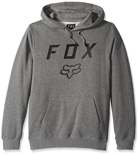 FOX 20766-185-M Pullover Hoodie, Heather Graphite, M