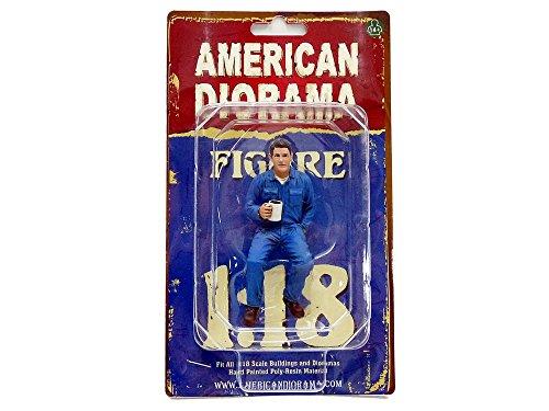 American Diorama 77450 Figurine Mécanicien - 4 - Echelle 1/18