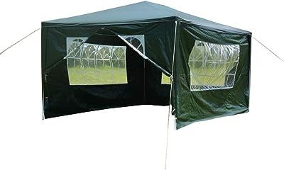 3 x 3m Gazebo Canopy Pop Up Tent Outdoor Garden Party Wedding Shade w// Netting