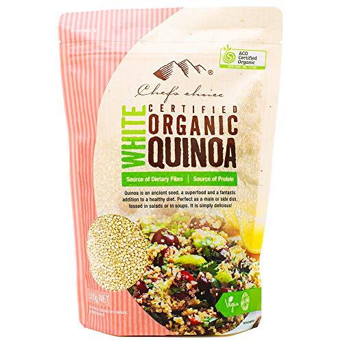 シェフズチョイス(Chef's choice) オーガニックキヌア500g Organic white quinoa