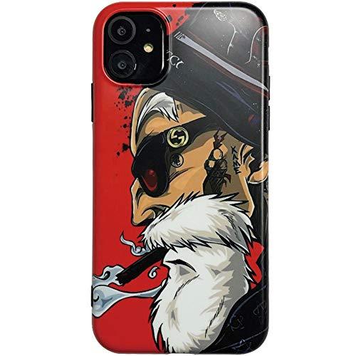 RSDPJ Für Apple 11 Mobile Shell, Dragon Ball Schildkröte Fee Apple-X Mobile Shell 11Pro Personality Male Abdeckung,iPhone11