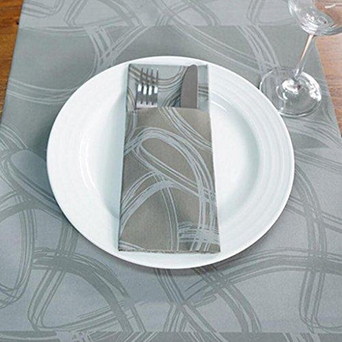 MXJ61 Tableau jetable de table de banquet de restaurant d'hôtel de table de banquettes Table de salle à manger ( taille : Tableware cover 0.4*24m )