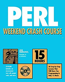 Perl Weekend Crash Course
