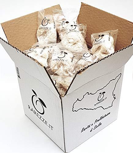 Feingebäck aus mandelpaste handgefertigt in Sizilien von einer alten Konditorei, mit hochwertigen sizilianischen Mandeln. SparPaket kg.1