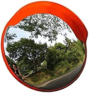 Convex Safety Mirror Traffic Mirror Wide Angle Mirror Mountain Area Narrow Road Safety Mirror, PC Not Deformed Wide-Angle ...