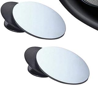 SODIAL 2 pz Specchio convesso rotondo adesivo punto cieco set R