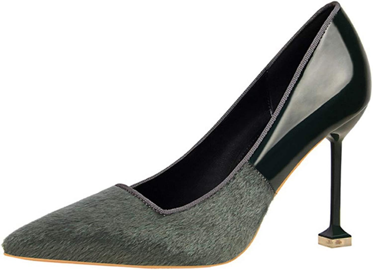 Drew Toby Women Pumps Shallow Mouth Pointed Toe Sexy High Heels