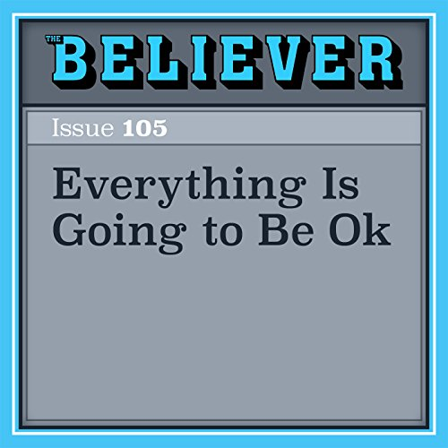 Everything Is Going to Be Ok audiobook cover art