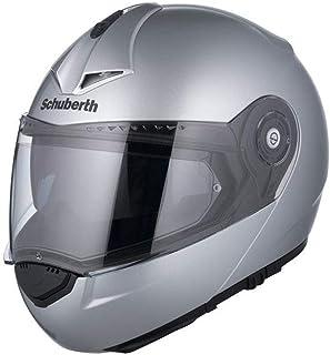 Casco de moto Bandit Star Silver construcci/ón compacta y ligera muy c/ómodo