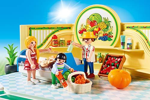 PLAYMOBIL City Life Tienda de Frutas y Verduras, A partir de 5 años (9403) , color/modelo surtido