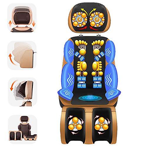Shiatsu Massageauflage Wärmefunktion Massage Stuhl Hause Pad Relief Zervikale Neck Taille Schulter Körper Schmerzen Massager Kissen Geburtstag Geschenk für Ältere