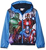 Marvel Avengers Classic Chaqueta para lluvia, Azul (azul 18-4043tc), 4 años para Niños