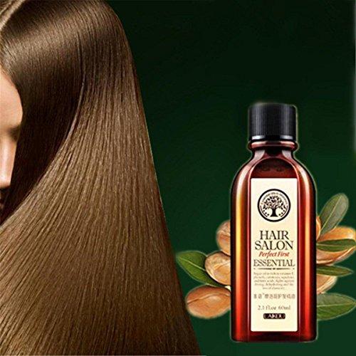 Arganöl Argania Oil & Reines Arganöl 60 ml. 100% kalt gepresst für Gesicht, Haare, Haut, Nägel - Natürlich & intensiv feuchtigkeitsspendend nährend für weiche, junge Haut, glatte Haare