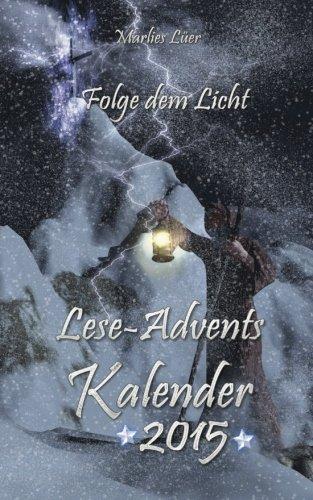 Lese-Adventskalender 2015 Folge dem Licht
