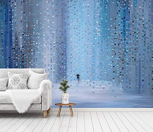 Details about  /3D Blue Block  I11 Wallpaper Mural Sefl-adhesive Ekaterina Ermilkina Sunday