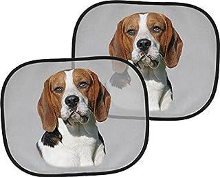 BERNER Sennenhund 44 x 38 cm 2 x Auto-Sonnenschutz 4 Saugn/äpfe BNS 01 Zweier-Set