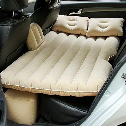 Sinbide Auto SUV Luftmatratze Autoelektrisch aufblasbare MatratzeMatratze Auto mit Pumpe LuftbettBewegliche Dickere Luftbett Auto Matratze für Reisen Camping Outdoor