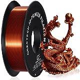 GEEETECH PLA filament 1.75mm Silk Copper, Imprimante 3D Filament PLA 1kg Spool