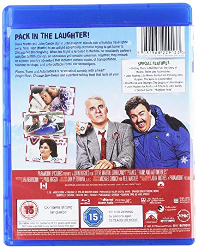 Planes, Trains & Automobiles [Blu-ray] [1987] [Region Free]