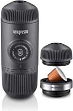 Wacaco Nanopresso Portable Espresso Maker Combos, Upgrade Version of Minipresso, Compact Travel Coffee Maker, Manually Ope...