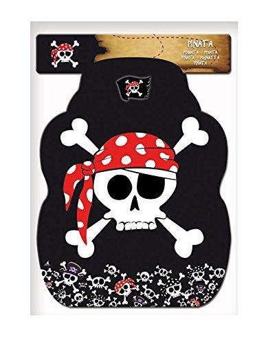 Piñata de piratas para fiesta temática.