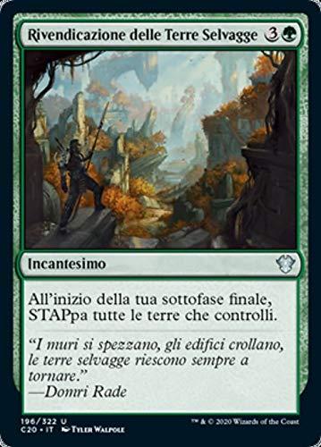 Magic : The Gathering MTG - Wilderness Reclamation - Rivendicazione Delle Terre Selvagge - Commander 2020 C20 196/322 Italiano(Italian)
