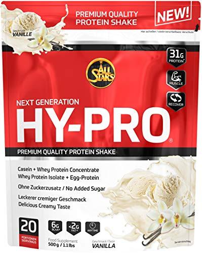 All Stars Hy-Pro Protein, Vanille, 1er Pack (1 x 500 g)