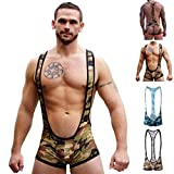 Gruff Pup Combat Singlet (Army Camo - Full Ass, Large)
