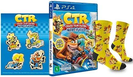 Crash Team Racing Nitro Fueled - PlayStation 4 - Edição com Brinde