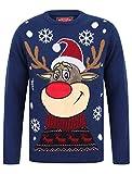 Rudolph das Rentier LED-Licht Weihnachtspullover