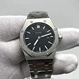 WAVFCSE Damen luxusuhr Quarz schwarzes zifferblatt Silber Edelstahl Armband frauenleuchtuhrenAAA + Gold
