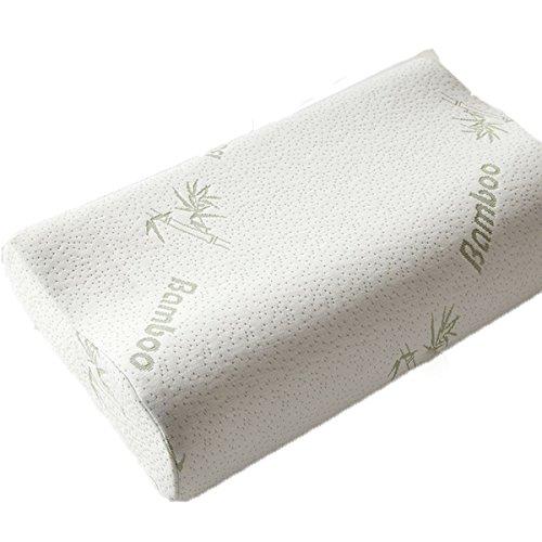 Cuscino Di Memoria Dello Spazio Fibra Di Bambù Rimbalzo Lento Memory Foam Cuscino Cervicale Cuscino Cuscino 30 * 50cm