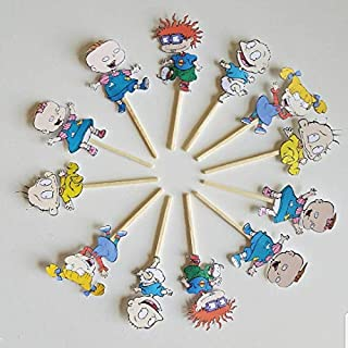 Rugrats cupcake toppers