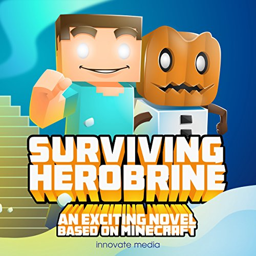 Surviving Herobrine audiobook cover art