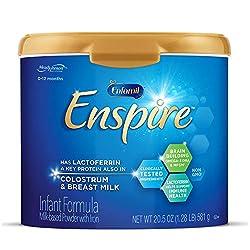 Enfamil Enspire Baby Formula Milk Powder, 20.5 Ounce, Omega 3 DHA, Probiotics, Immune & Brain Suppor