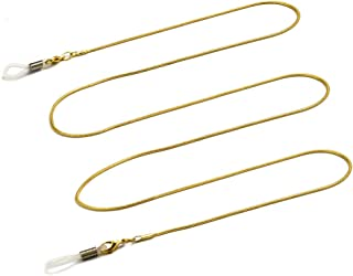 Dise/ño de Gafas de Sol Gafas Cadena Soporte Correa KEESIN Cord/ón Cuello Cadena Gafas Cadena Soporte para Gafas Oro