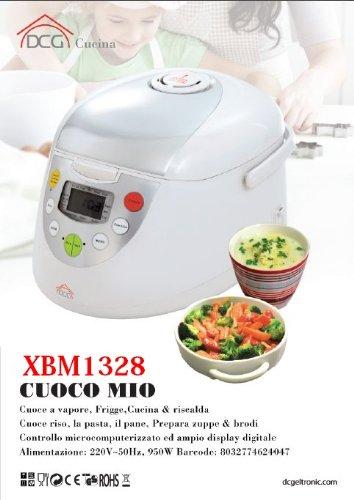 Cuciniere macchina per cuocere pane pasta yogurt DCG XBM1328_