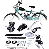Kit de motor de bicicleta de 80 cc de 2 tiempos, kit completo de bicicleta motorizada
