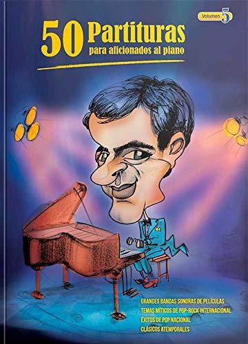 """""""50 Partituras para Aficionados al Piano"""" VOL 5"""