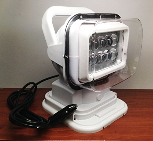 Marine Boat Portable Wireless Remote HIGH Power LED Work SPOT Light IP65 review