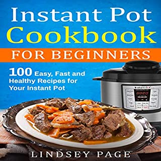 Instant Pot Cookbook for Beginners audiobook cover art