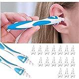 2枚 耳かき 耳ワックス スパイラル耳垢 螺旋式 耳すっきりクリーナー 耳掃除 イヤークリーナー 携帯便利 家庭用 子供用,b